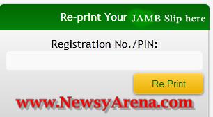 Re-print JAMB Slip here: Learn How to re-pr-print JAMB Slip for 2015 UTME
