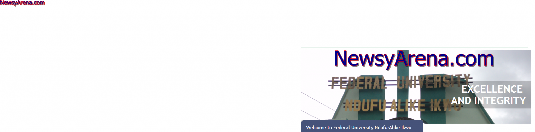 How To Check FUNAI 2014/2015 Post UTME Result – FUNAI