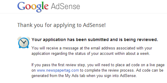 How to Resubmit your Google Adsense Application for Approval