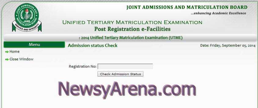 JAMB Merit List Checker – Check Admission Status here