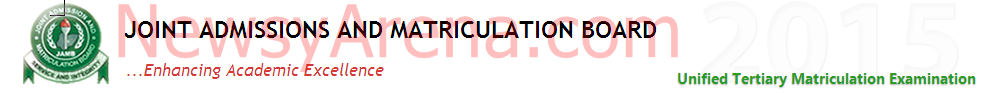 JAMB 2015/2016 Registration