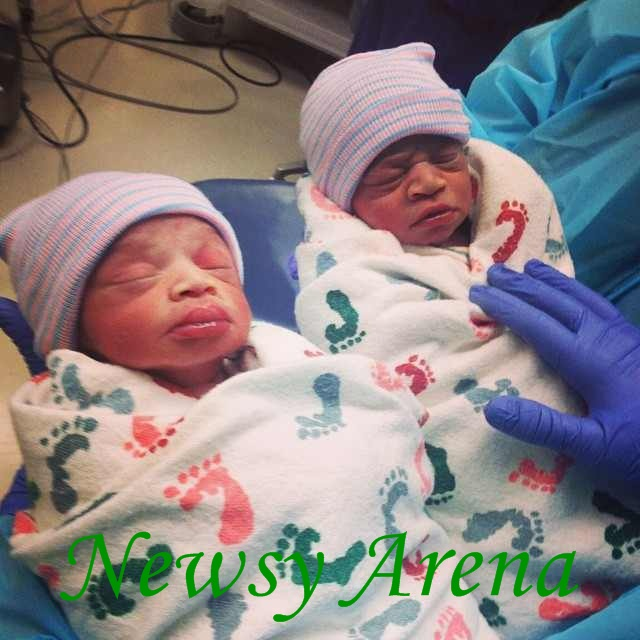 TY Bello now the mother of twin boys after 9 years of marriage