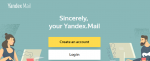 Yandex Email Account Registration
