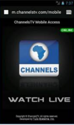 Channels TV Mobile App