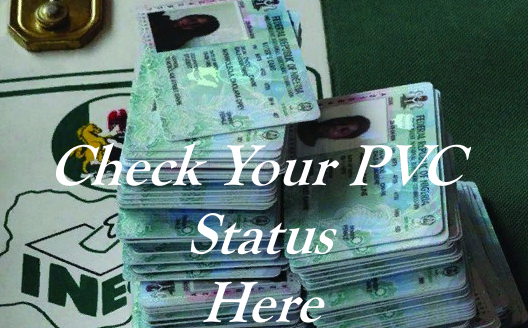 INEC Voters Card Verification Site – Check Your PVC Status here