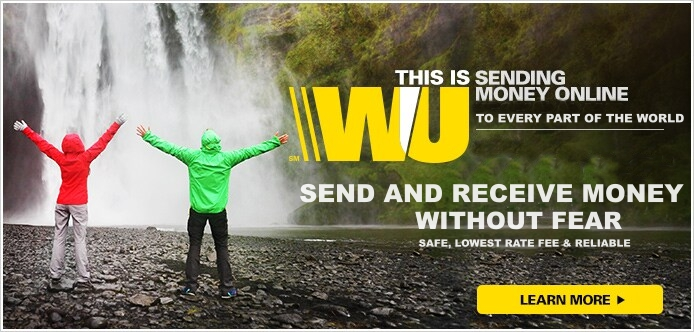 Western Union Online Account Login |  Sign in to transfer and receive Fund via Western Union