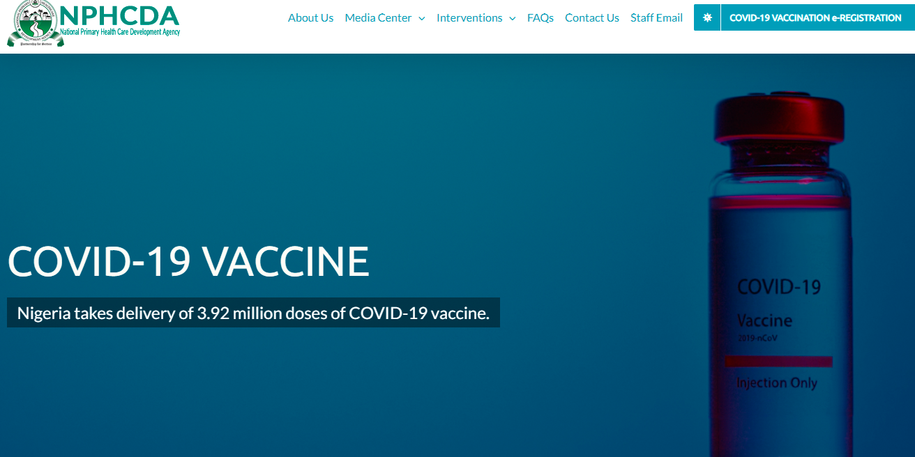 Nigeria Covid-19 Vaccine | Guide to Online Registration