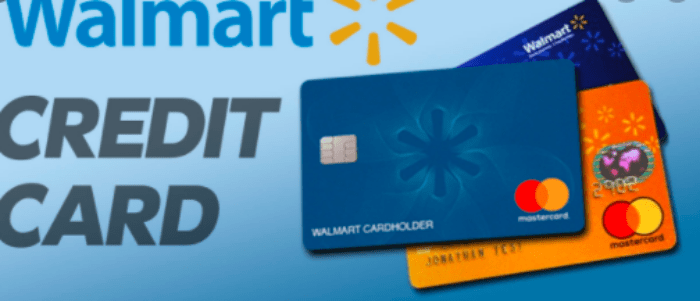 Login Walmart Credit Card Application Online Form